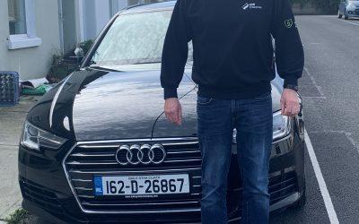 Audi A4 in Glasthule